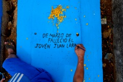 Falleció el joven Juan Lara. Yahualica, Hidalgo 2016.