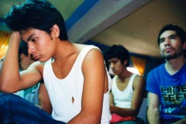 Largas horas de juntas. Chimalhuacán, EDOMEX 2008.