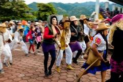 Ánimas danzando. Zoquitipán, Hidalgo 2016.