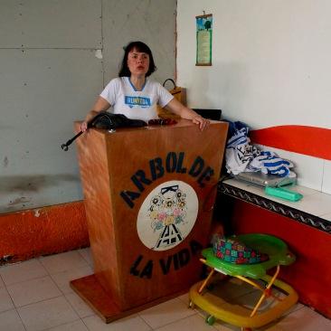 "Mi nombre es ""fulana de tal"" y soy una adicta. Iztapalapa, CDMX 2013."