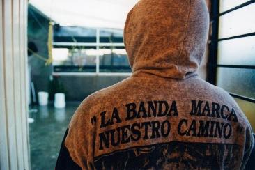 La banda marca nuestro camino. Chimalhuacán, EDOMEX 2008.