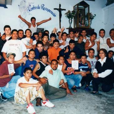 Foto grupal. Chimalhuacán, EDOMEX 2008.