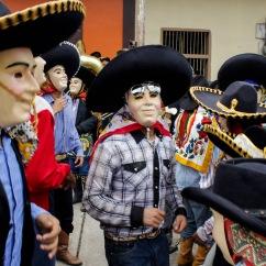 Ánimas danzando. Tehuetlán, Hidalgo 2013.