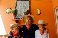 Ánimas con paliacate. Huejutla Centro, Hidalgo 2014.