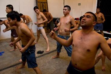 Ejercicio para estar en forma I. Chimalhuacán, EDOMEX 2011.