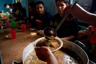 La hora de la comida I. Chimalhuacán, EDOMEX 2010.