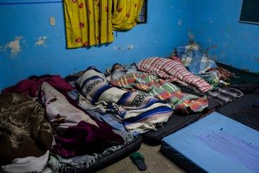 Hora de dormir. Chimalhuacán, EDOMEX 2011.