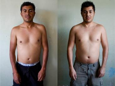 Adicto II antes y después. Chimalhuacán, EDOMEX 2011.